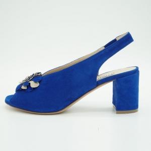 Sandalo fasciante scollo a V